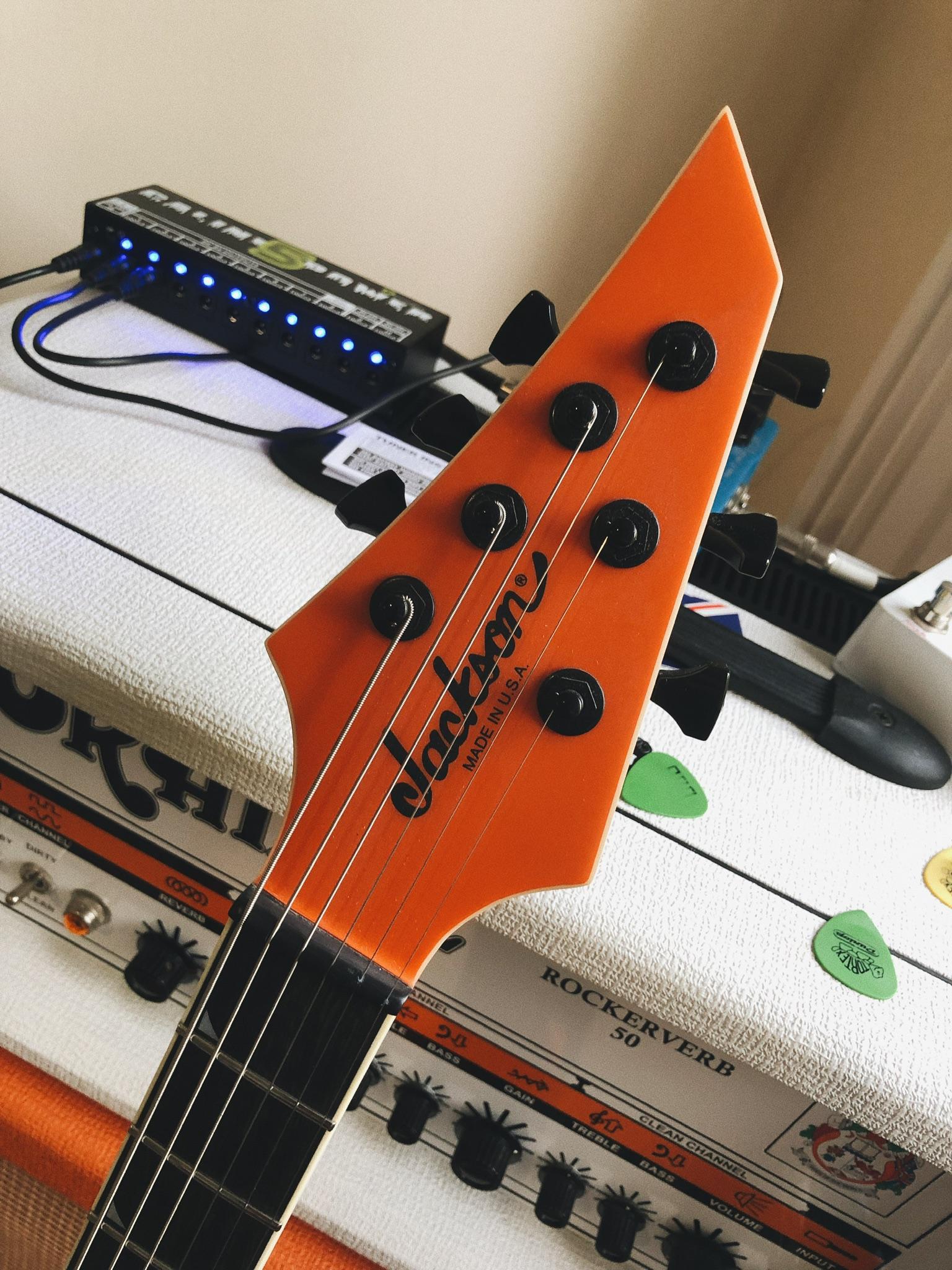NGD! Jackson USA Juggernaut HT6 in matte lambo orange (backstory included)-eb93f307-e09a-4a1e-a043-dfc7b038e25d-jpeg