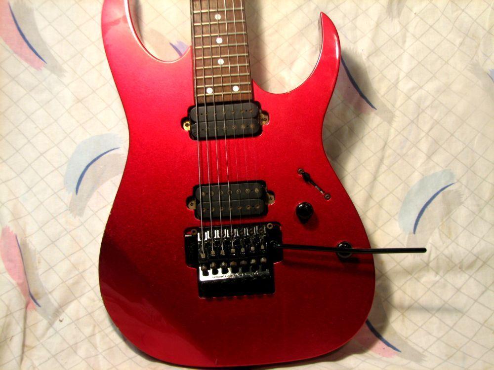 Incomming New Old Guitar day. 2000 MIJ RG7420 in Magenta Crush-l16007jpg-jpg
